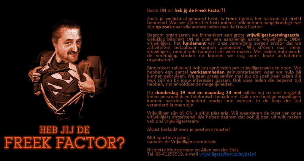 Freek Factor 1